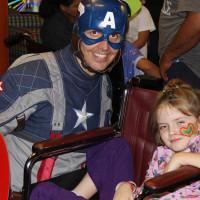 captain america charity