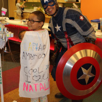 captain america charity cosplayer