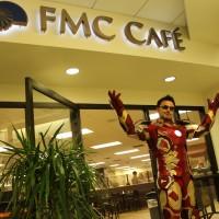 iron man at hospital