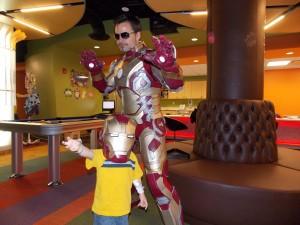 Tony Stark cosplay